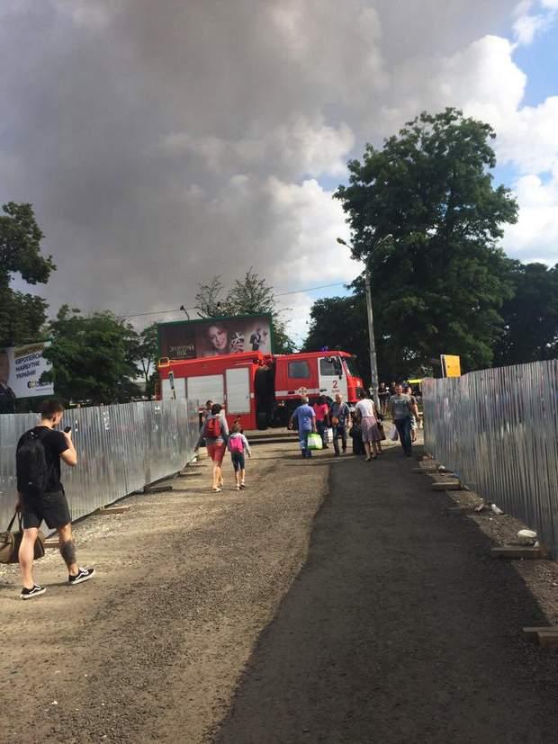 Львів вокзал пожежа