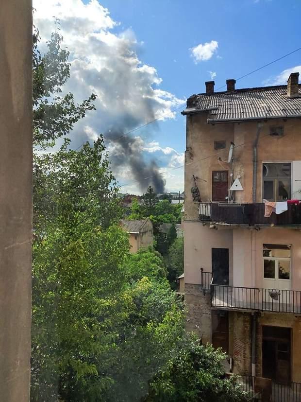 пожежа Львів вокзал