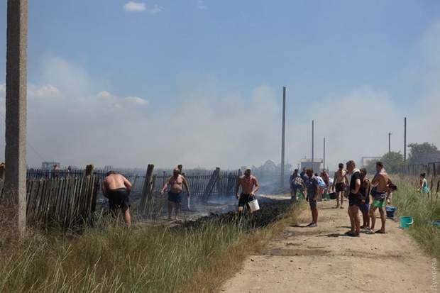 Пожежа на Одещині