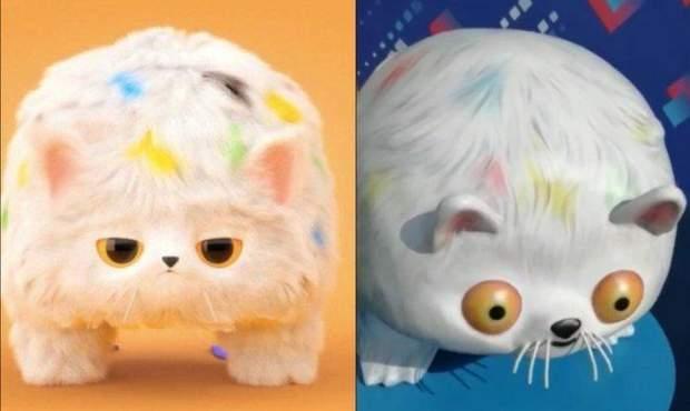 кіт-вушанка талісман Росії