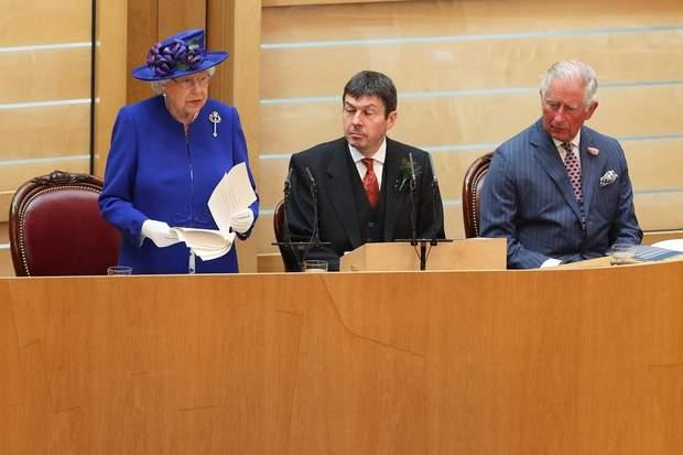Королева Єлизавета ІІ у Шотландії