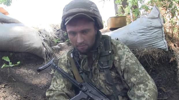 Український захисник Олександр отримав контузію, але відмовився від госпіталізації
