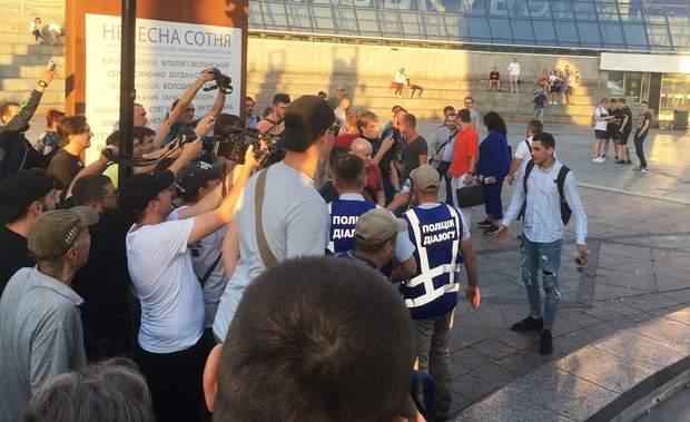 Майдан Київ протест Шарій Клюєв Страна юа