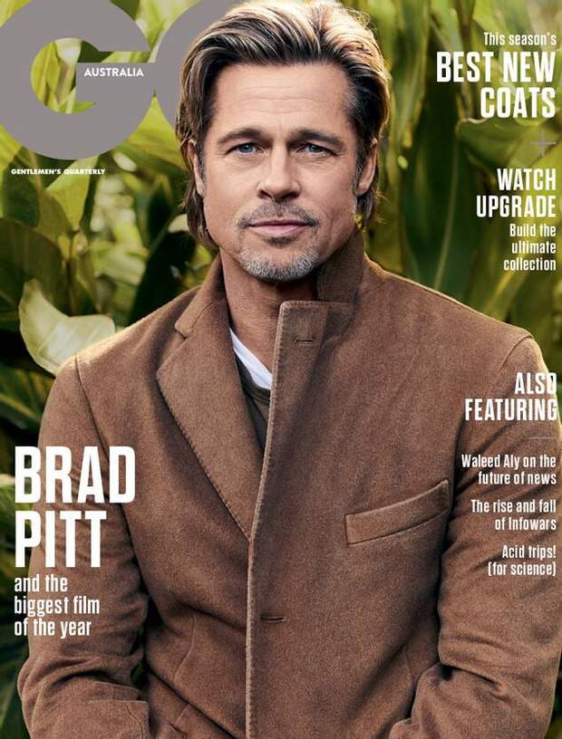 Бред Пітт прикрасив обкладинку відомого журналу
