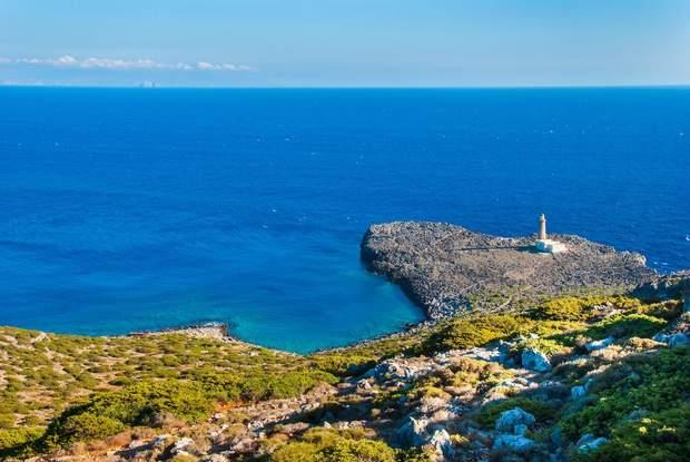 Греція Антикітера острів краєвид