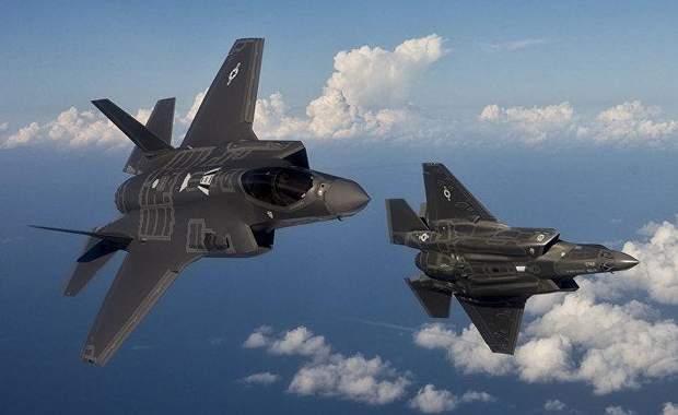 Истребители-невидимки F-35