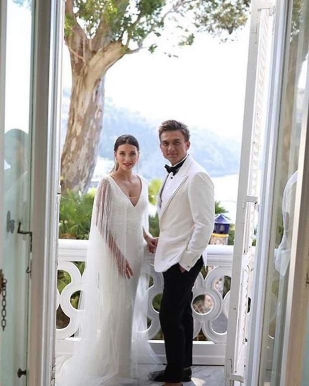 Весілля Влада Топалова і Регіни Тодоренко
