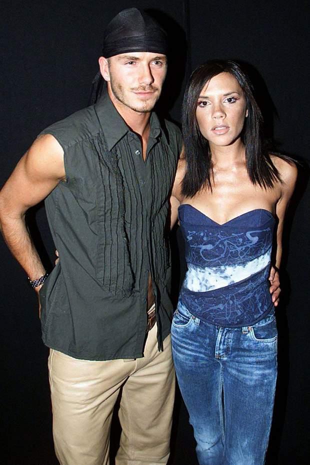 Вікторія і Девід Бекхем 2000 рік