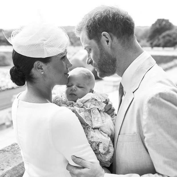 Хрестини сина Меган Маркл і принца Гаррі