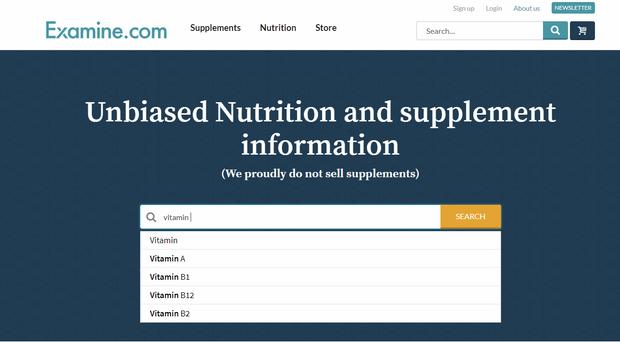 На сайті зібрана корисна інформація про біодобавки