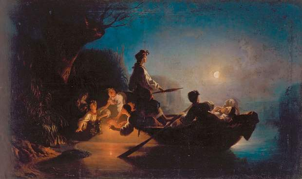 Ворожіння в ніч на Івана Купала