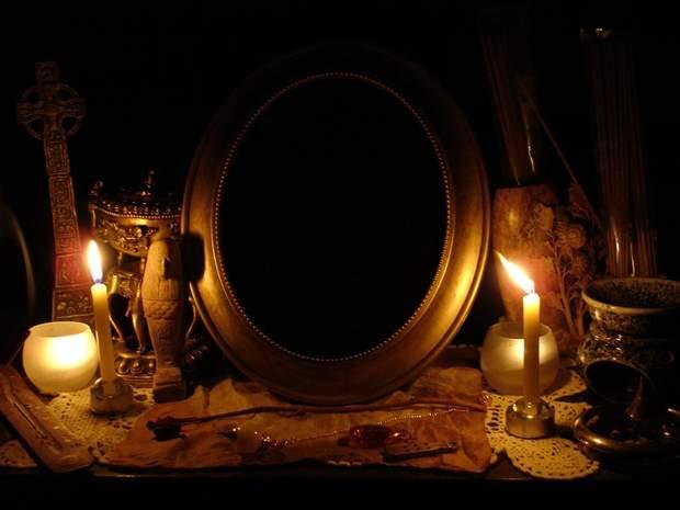 Ворожіння на дзеркалі