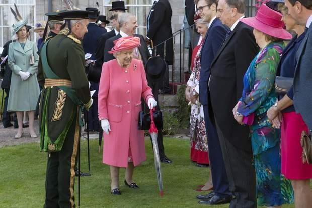 Єлизавета ІІ в Шотландії