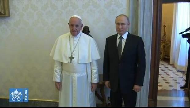путін папа римський зустріч