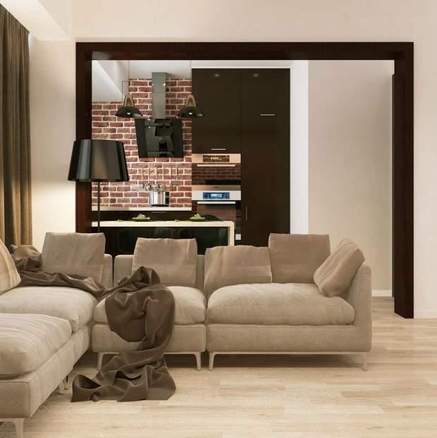 вузька кімната дизайн інтерєр
