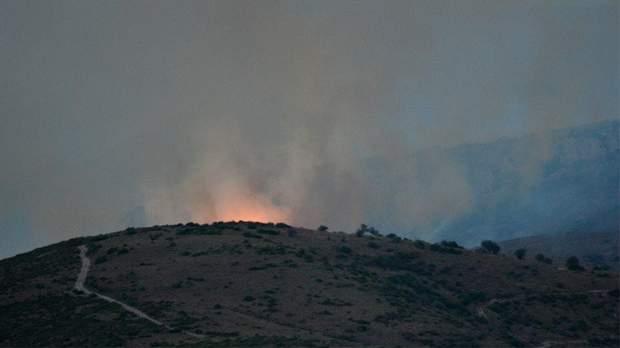 греція острів евія пожежа