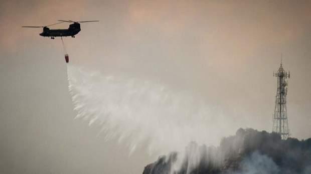 греція пожежа острів евія