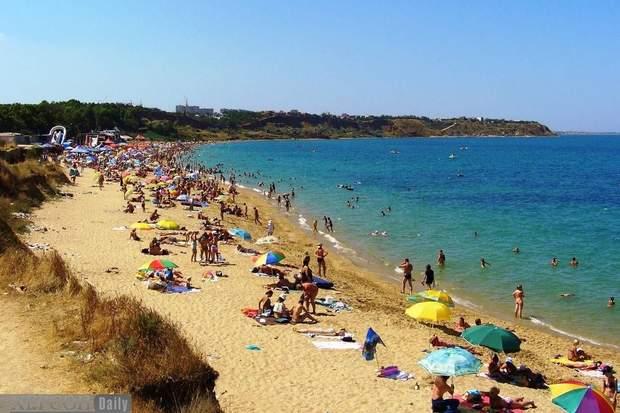 пляжі України