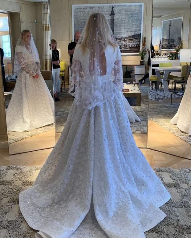 Весільна сукня Софі Тернер