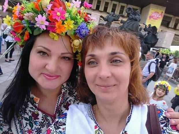 Яна Червона і Тетяна Черкашина