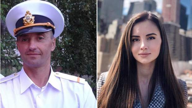 Андрій Оприско та його донька Ольга