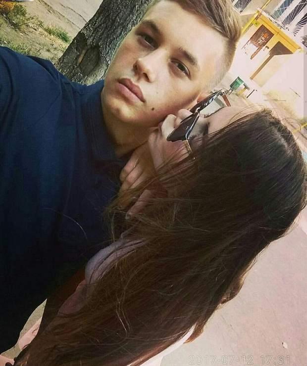 Андрій Ейдер з дівчиною