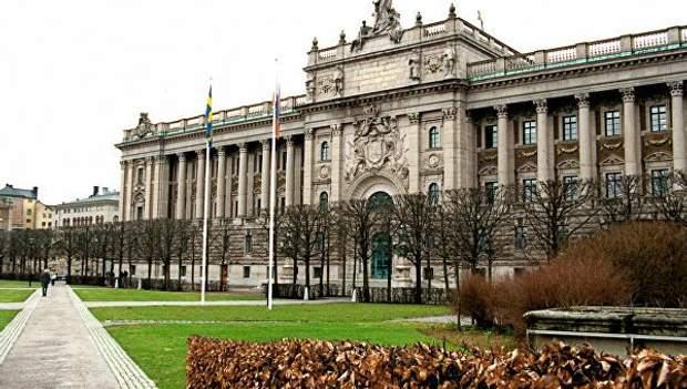 швеція парламент