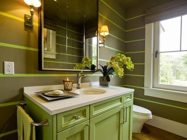 зелена ванна