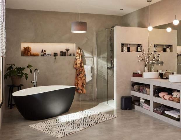 сіра ванна