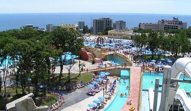 аквапарк болгарія