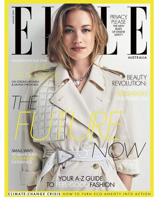 Івонн Страховскі для Elle Australia