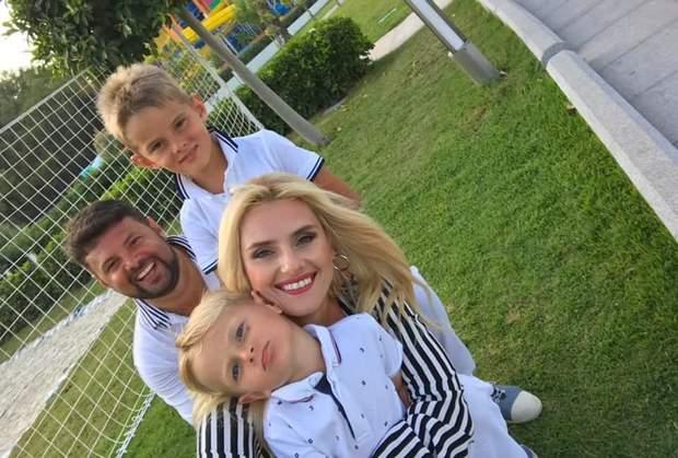 Ірина Федишин і сім'я