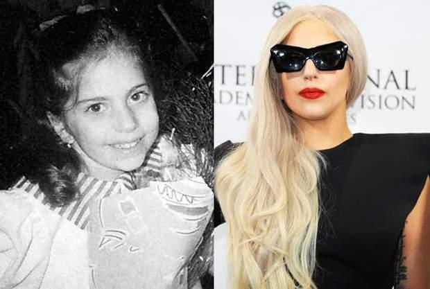 Леді Гага в молодості