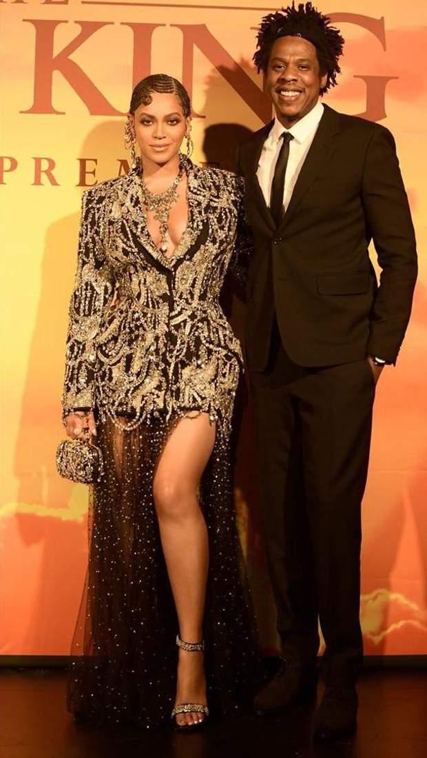 Співачка Бейонсе з Jay-Z