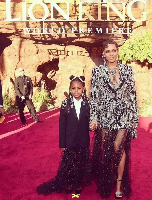 Бейонсе з донькою