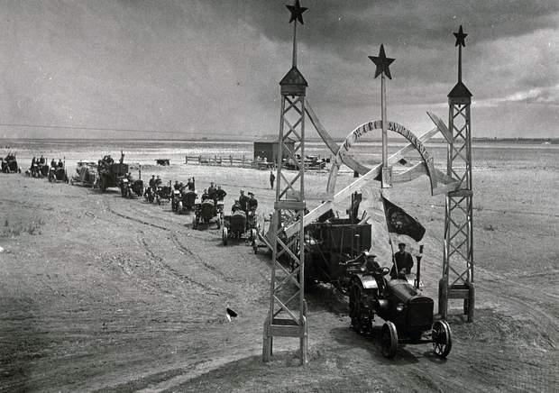 Советское рабство в колхозах