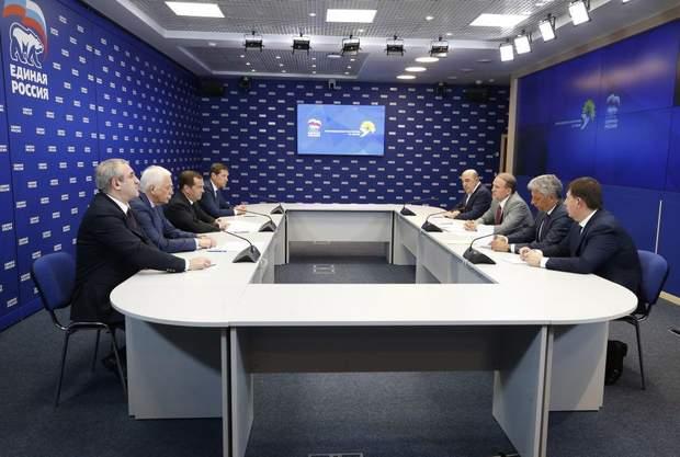 Медведчук, Бойко, Рабінович, Козак Медведєв зустріч Москва 10 липня