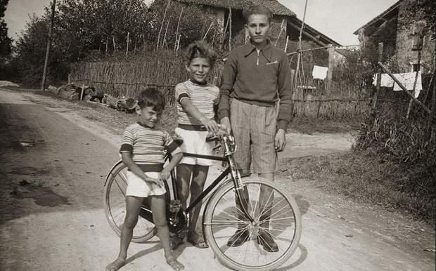Джорджо Армані в дитинстві