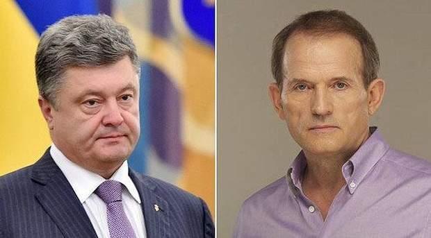 Петро Порошенко та Віктор Медведчук