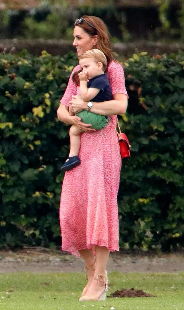 Кейт Міддлтон і принц Луї