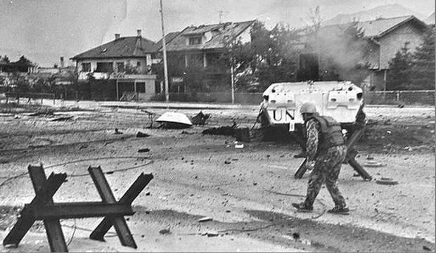 українські миротворці в Сараєво