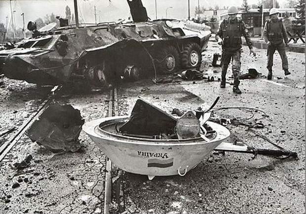 Обстріл українських миротворців в Сараєво