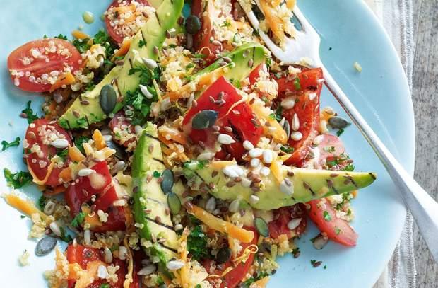 Кіноа з овочами