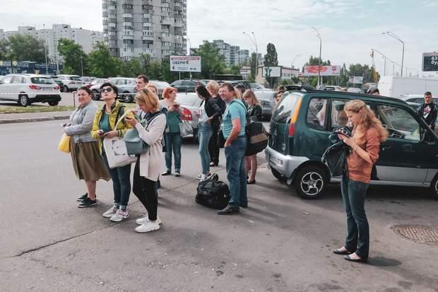 метро ранок Київ