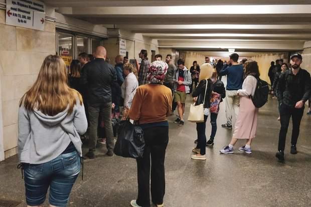 метро ранок