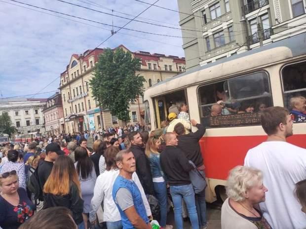 громадський транспорт Київ