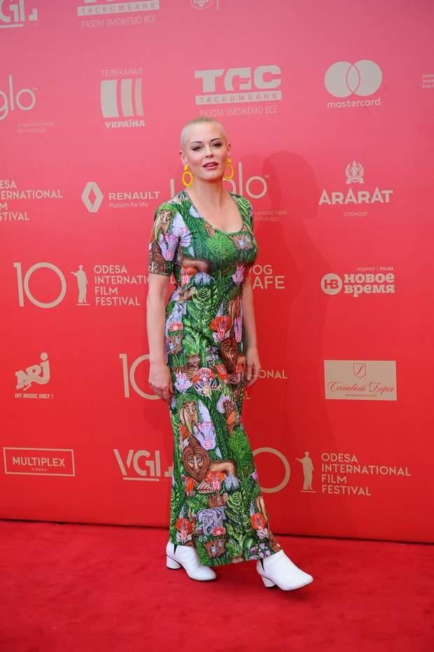 Роуз МакГоуен на Одеському кінофестивалі