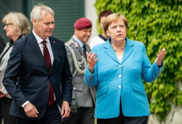 Меркель погано