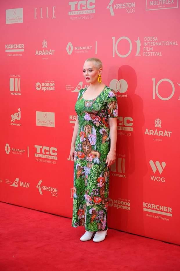 Роуз МакГоуен на Одеському фестивалі