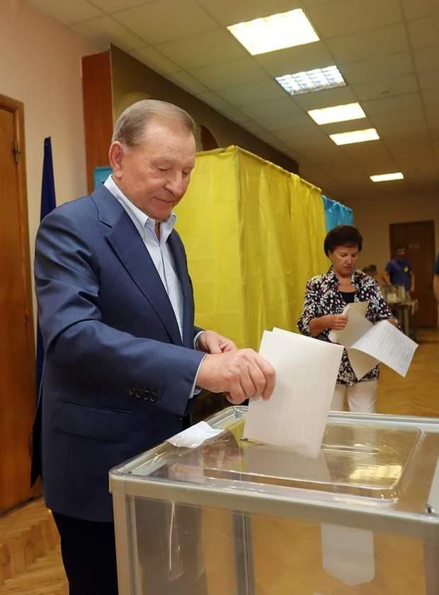 Кучма вибори парламентські вибори